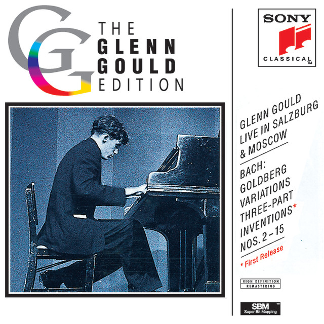 Glenn Gould Live in Salzburg & Moscow Albumcover