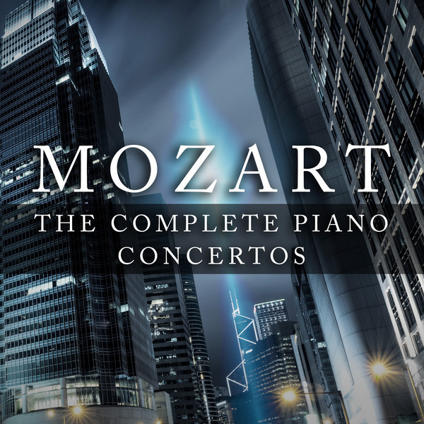 Mozart - The Complete Piano Concertos Albumcover