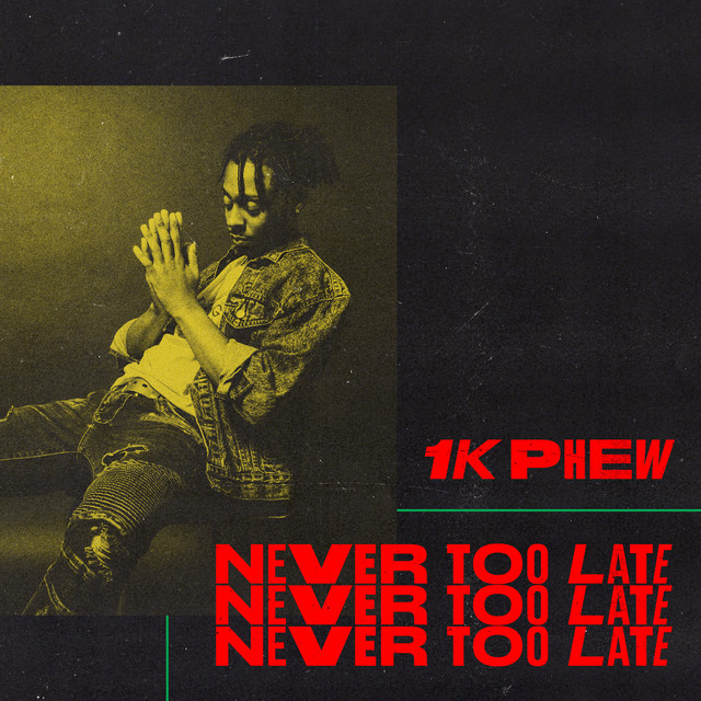 1K Phew — Never Too Late on Spotify