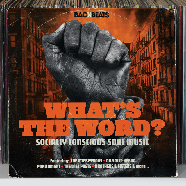 Various Artists What's The Word – Socially Conscious Soul Music album cover