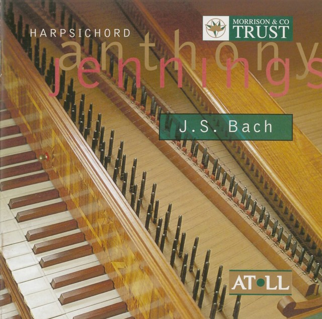 Jennings, Anthony: Bach - Original and Transcribed Albumcover