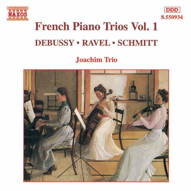 French Piano Trios, Vol. 1 Albumcover