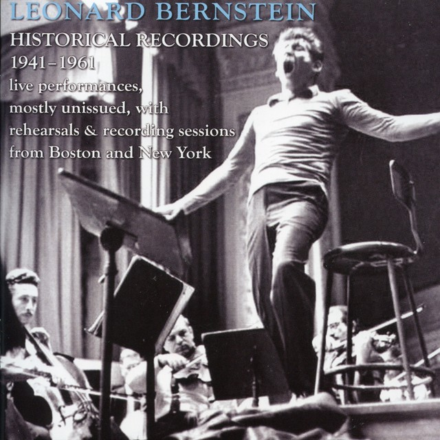 Leonard Bernstein: Historic Broadcasts, 1946-1961 Albumcover