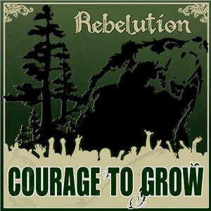 Courage To Grow Albumcover