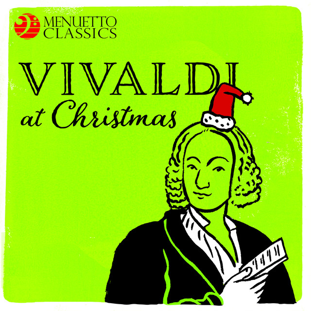Album cover for Vivaldi at Christmas by Antonio Vivaldi, Various Artists