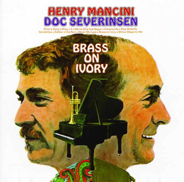 Henry Mancini, Doc Severinsen Brass on Ivory album cover
