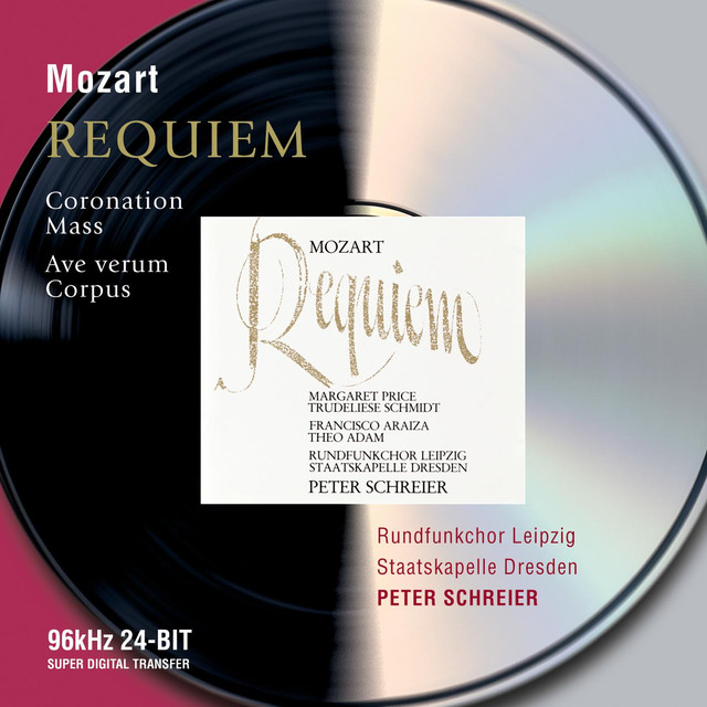 Mozart: Requiem; Coronation Mass; Ave Verum Corpus