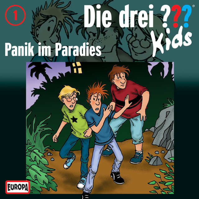 001 - Panik im Paradies Cover