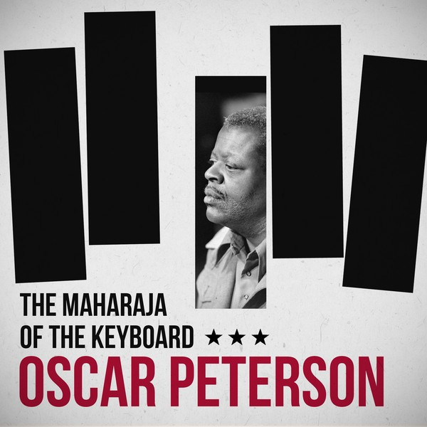 Oscar Peterson The Maharaja of the Keyboard album cover