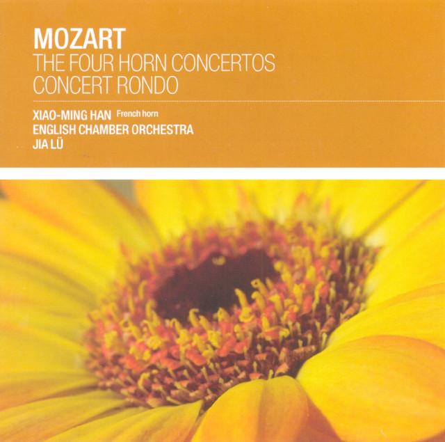Mozart: The 4 Horn Concertos Albumcover