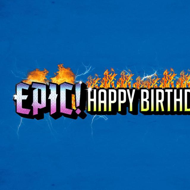 Epic Happy Birthdays on Spotify