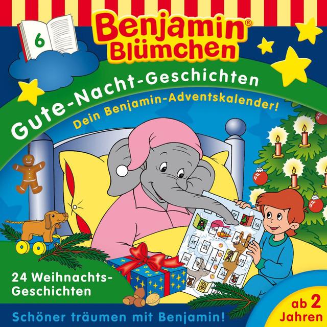 Benjamin Blümchen Gute-Nacht-Geschichten - Folge 6: 24 Weihnachts-Geschichten Cover