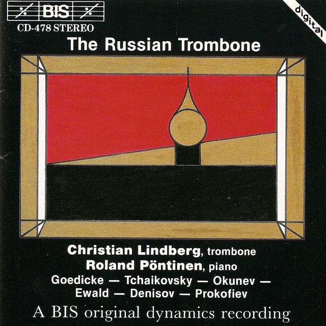 Lindberg, Christian: Russian Trombone (The) Albumcover