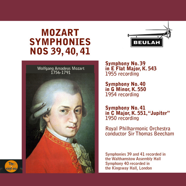 List of symphonies by Wolfgang Amadeus Mozart