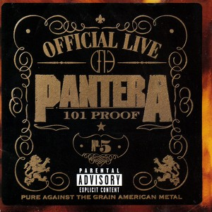 Official Live: 101 Proof Albumcover