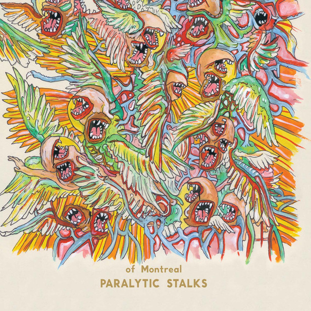 of Montreal Paralytic Stalks album cover