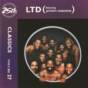 L.T.D., Jeffrey Osborne Back In Love Again cover