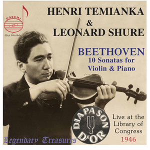 The Beethoven Violin Sonatas: Live at Library of Congress Albümü