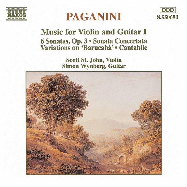 Paganini: Music for Violin and Guitar, Vol. 1 Albumcover