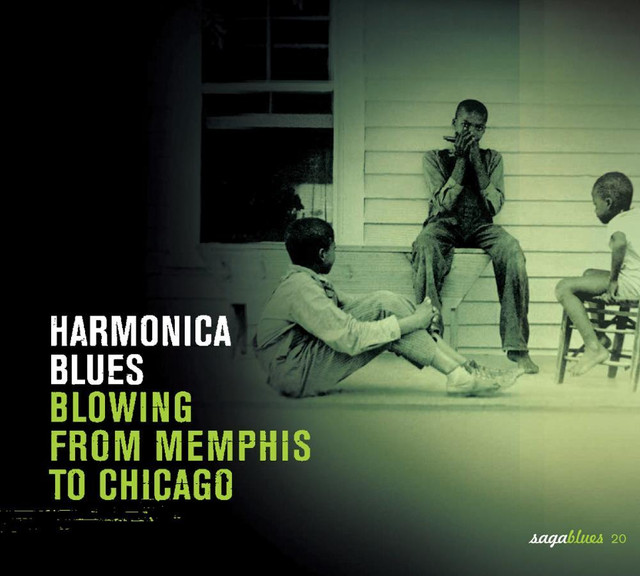 Various Artists Saga Blues: Harmonica Blues