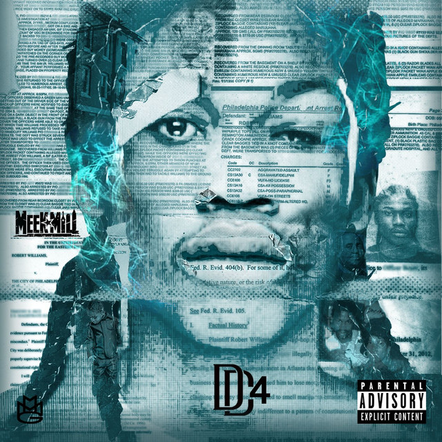 Album cover for DC4 by Meek Mill