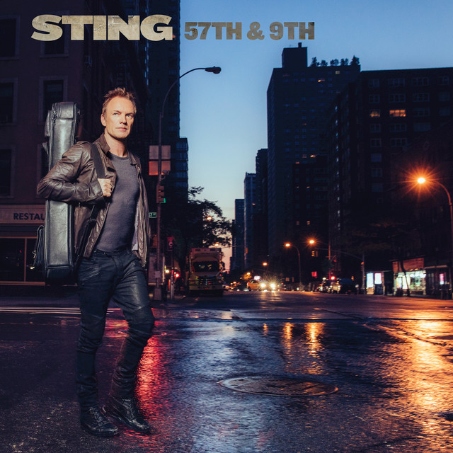 Album cover for 57TH & 9TH by Sting