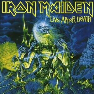 Live After Death Albumcover