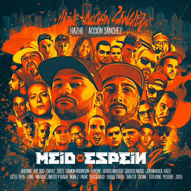 Album cover for Meid In Espein, Vol. 2 by Hazhe, Accion Sanchez