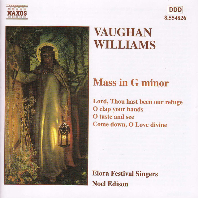 Vaughan Williams: Mass in G Minor / Motets Albumcover
