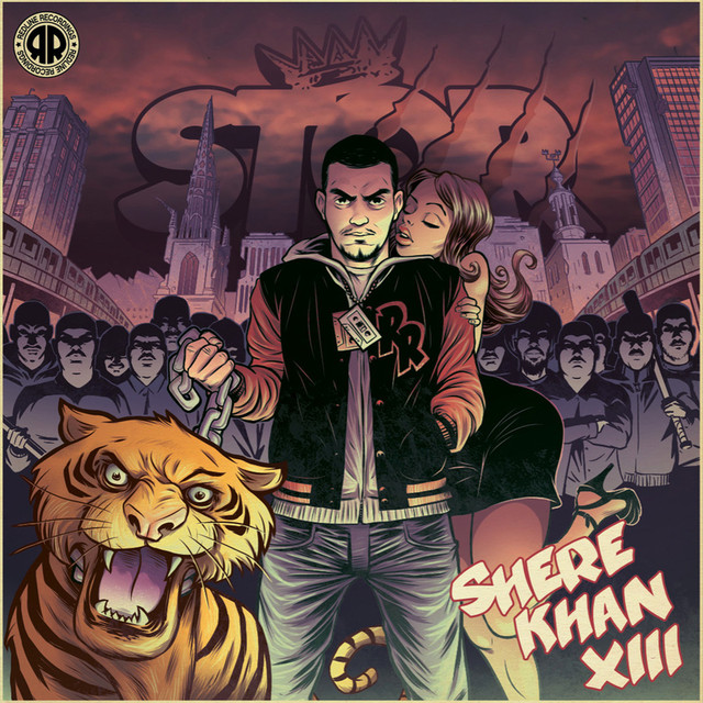 Skivomslag för Stor: Shere Khan XIII