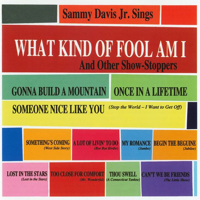 What Kind of Fool Am I: And Other Show-Stoppers