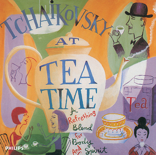 Tchaikovsky at Tea Time Albumcover