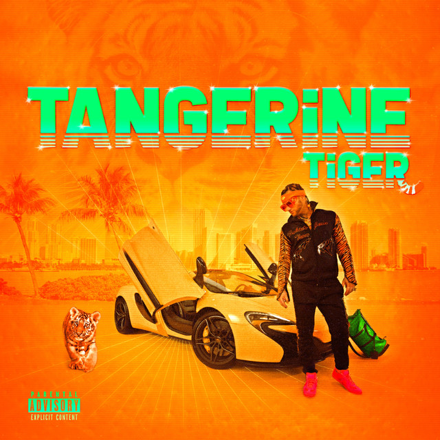 Album cover for Tangerine Tiger by Riff Raff
