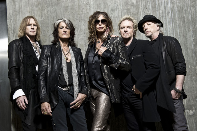 Aerosmith, Joe Perry, Run‐D.M.C., Steven Tyler Walk This Way cover