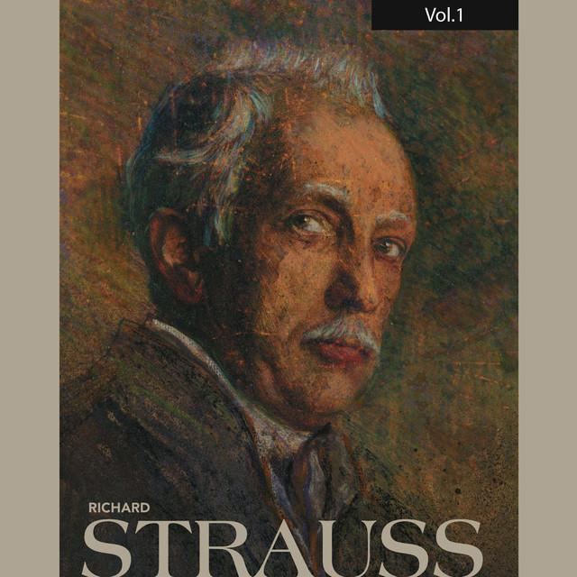 Richard Strauss, Vol. 1 (1947) Albumcover