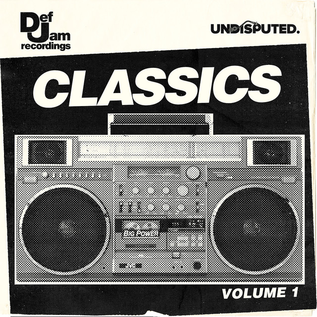 Album cover for Def Jam Classics (Volume 1) by Def Jam Recordings