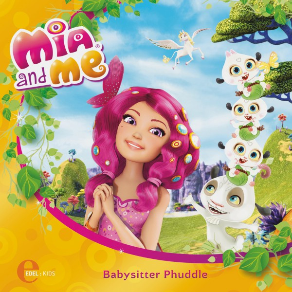 Folge 1: Babysitter Phuddle (Das Original-Hörspiel zum Buch) Cover