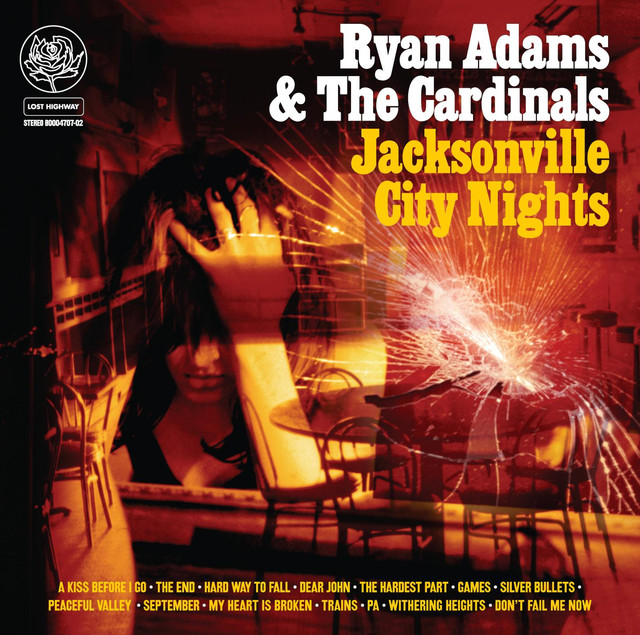 Ryan Adams & the Cardinals Jacksonville City Nights album cover