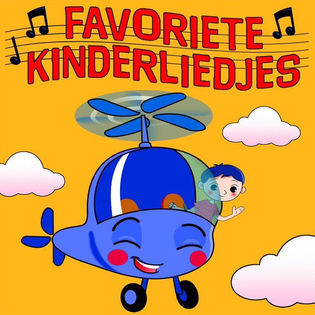 Album cover for Favoriete Kinderliedjes by Kinderliedjes