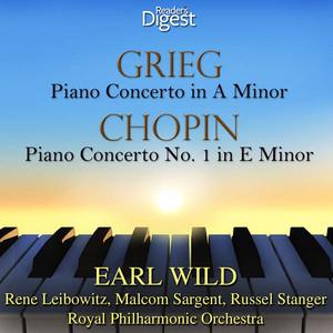 Grieg: Piano Concerto in A Minor - Chopin: Piano Concerto No. 1; Grande Polonaise Brillante album