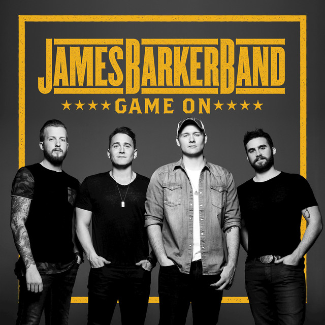 Album cover for Game On by James Barker Band