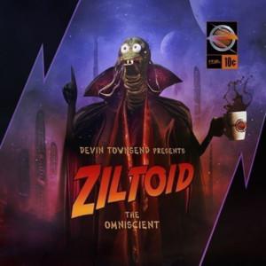 Presents: Ziltoid The Omniscient Albumcover