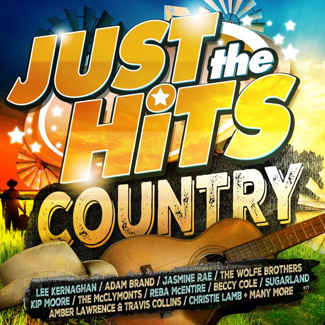 Various Artists Just The Hits: Country album cover
