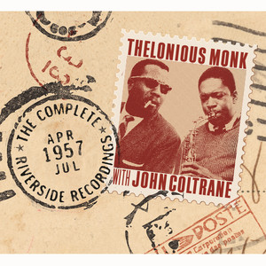 Thelonious Monk, Thelonious Monk Septet, John Coltrane Abide With Me cover