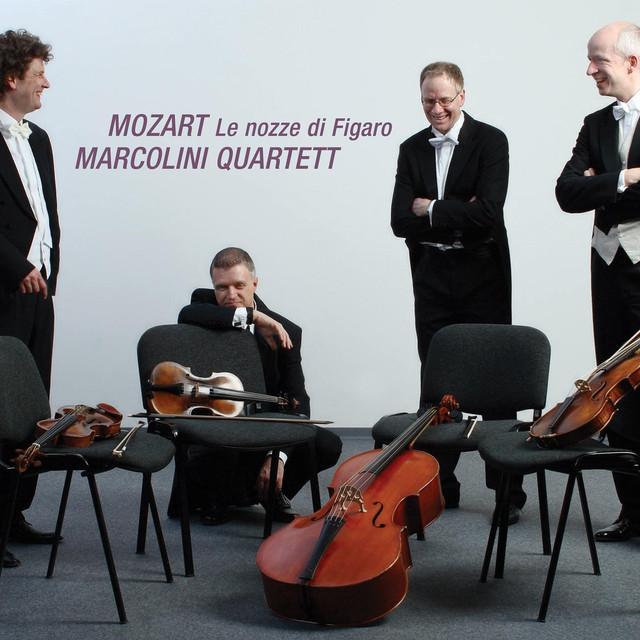 Mozart: Le nozze di Figaro, K. 492 (Arrangement for String Quartet) Albumcover
