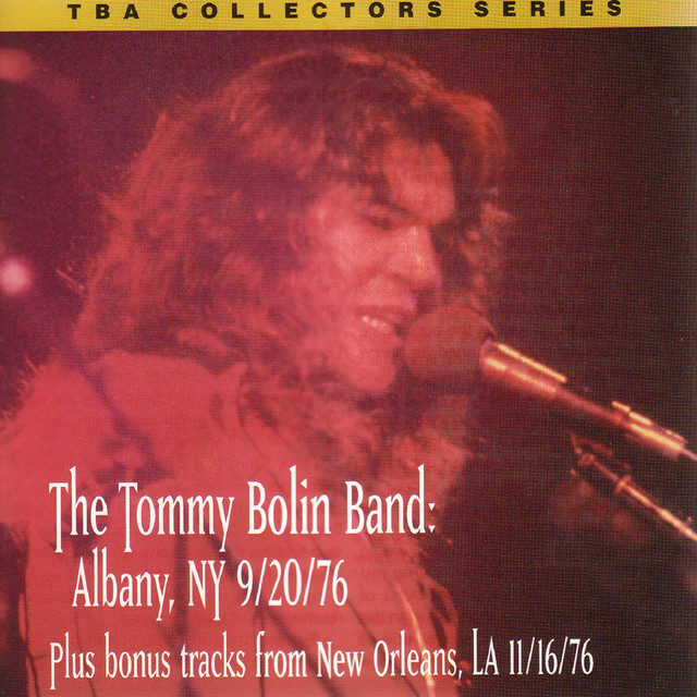 the tommy bolin band live albany ny 9 20 76 bonus tracks by tommy bolin on spotify. Black Bedroom Furniture Sets. Home Design Ideas