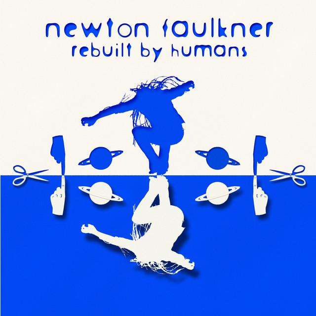 Newton Faulkner Rebuilt by Humans album cover