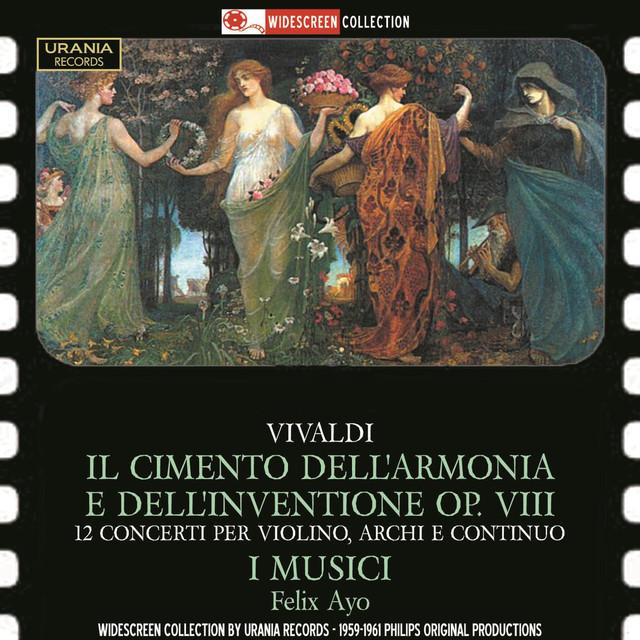 Vivaldi: 12 Concerti Albumcover