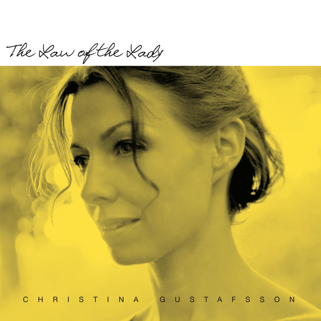 Skivomslag för Christina Gustafsson: The Law Of The Lady