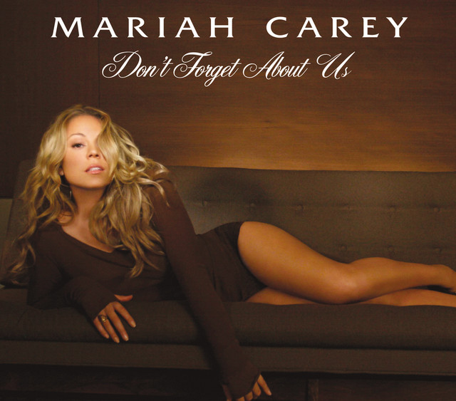 Mariah Carey Don't Forget About Us album cover